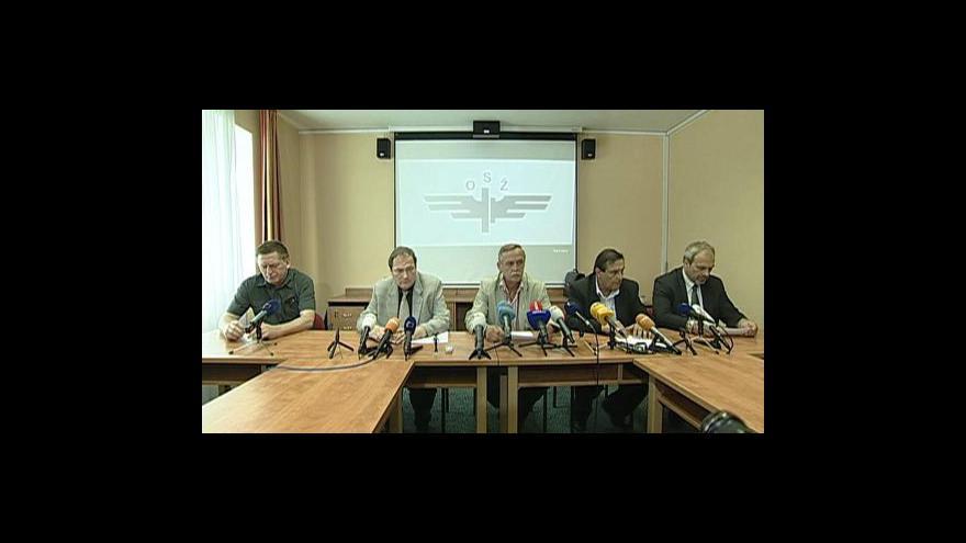 Video TK odborů ke čtvrteční stávce
