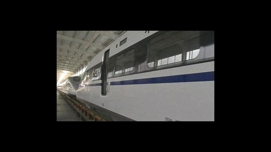 Video Čínu ovládnou rychlovlaky