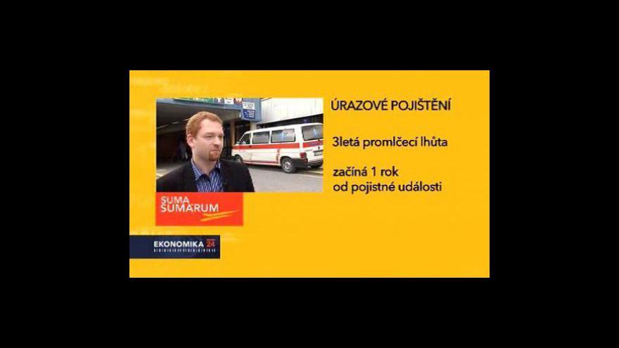 Video Suma sumárum - Pojištění