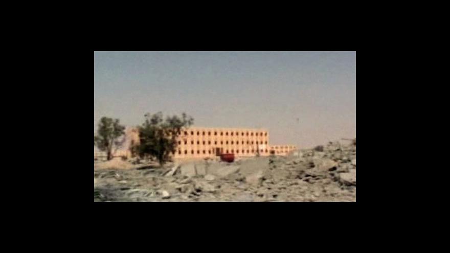 Video Studio ČT24 o situaci v Libyi