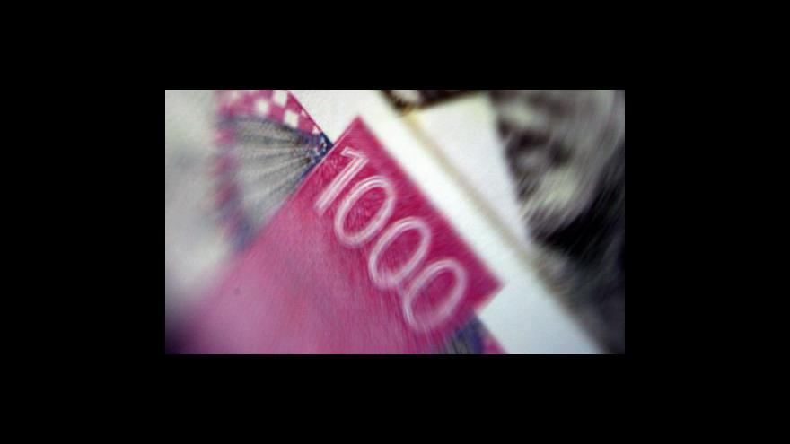 Video Českou ekonomiku táhne zahraniční poptávka