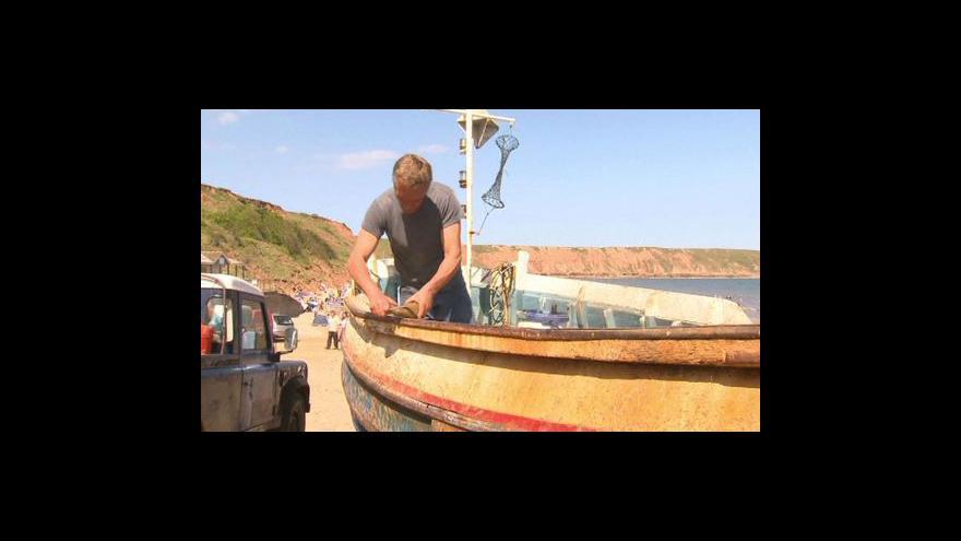 Video Rybáři z Filey