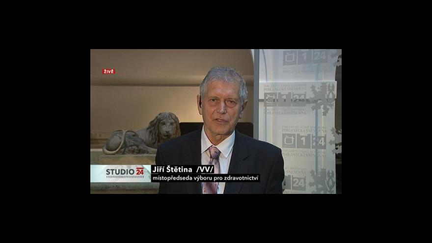 Video Studio ČT24 s Jiřím Štětinou