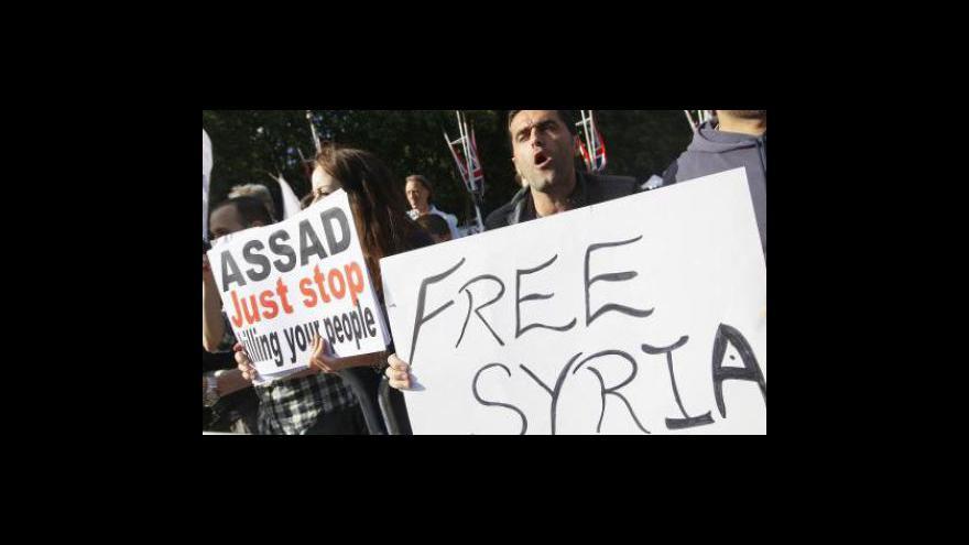 Video Boje v Sýrii pokračují