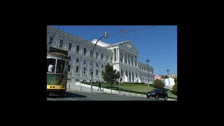 Video Volby v Portugalsku vyhrála sociální demokracie