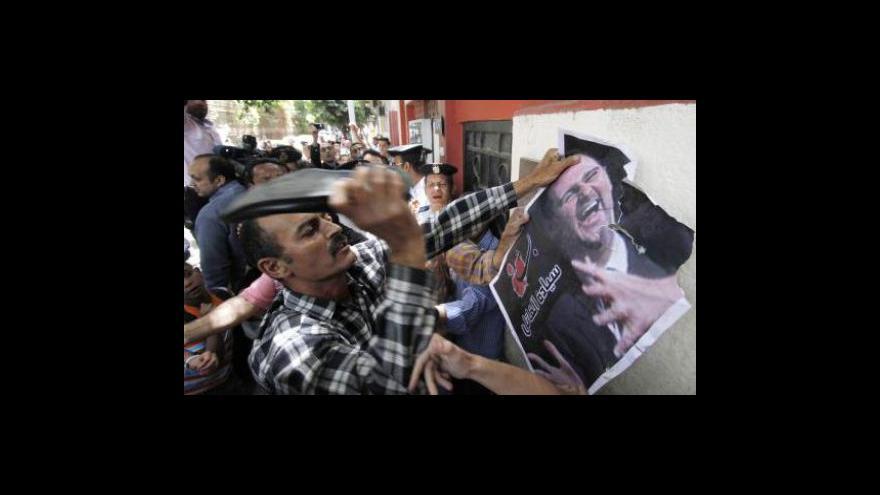 Video Protesty v Sýrii