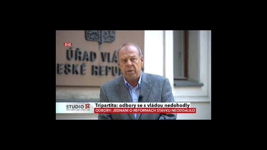 Video Jaromír Drábek a Jaroslav Zavadil o reformách