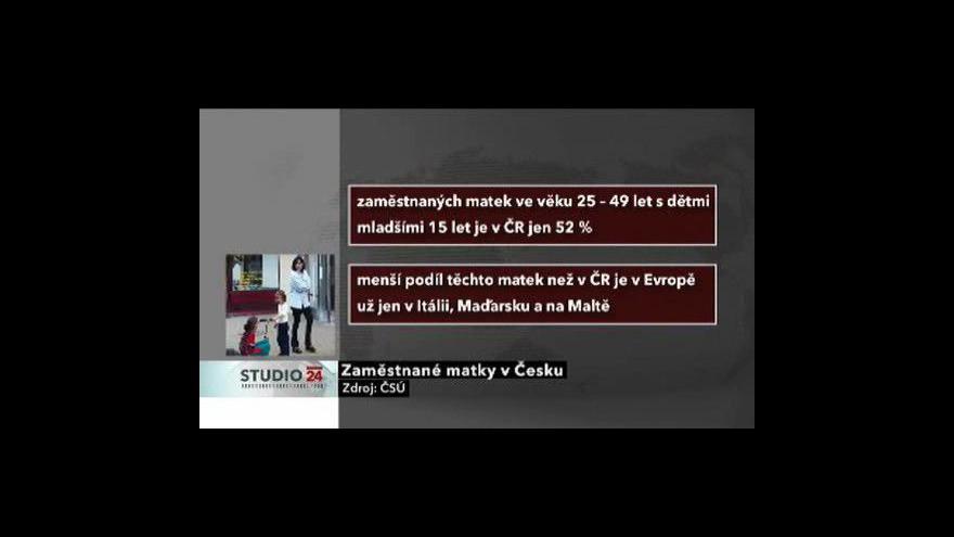 Video Socioložka Lenka Formánková ve Studiu ČT24: