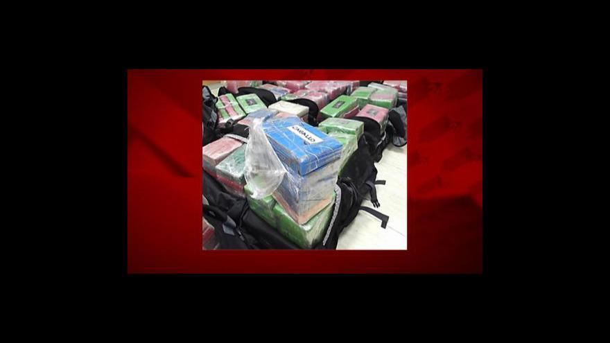 Video Praha centrálou obchodu s kokainem