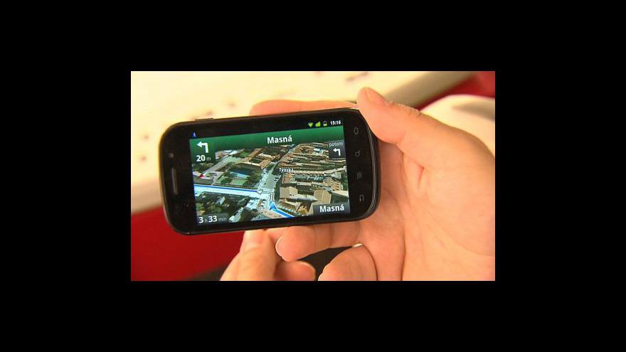 Video Navigace od Googlu tématem Ekonomiky ČT24