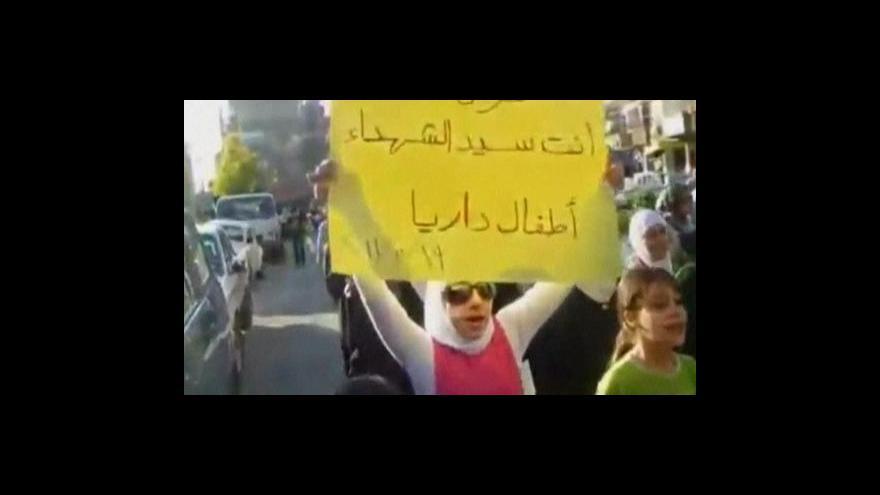 Video Nepokoje v Sýrii pokračují
