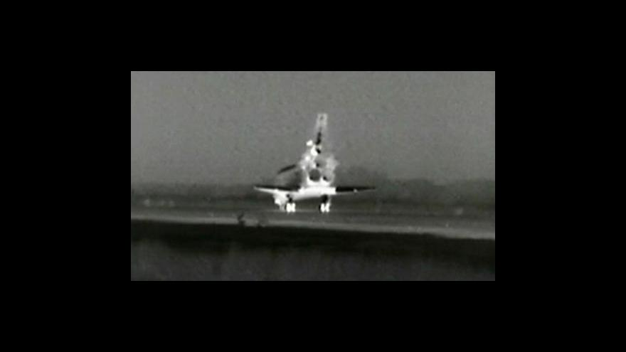 Video Přistání raketoplánu Endeavour