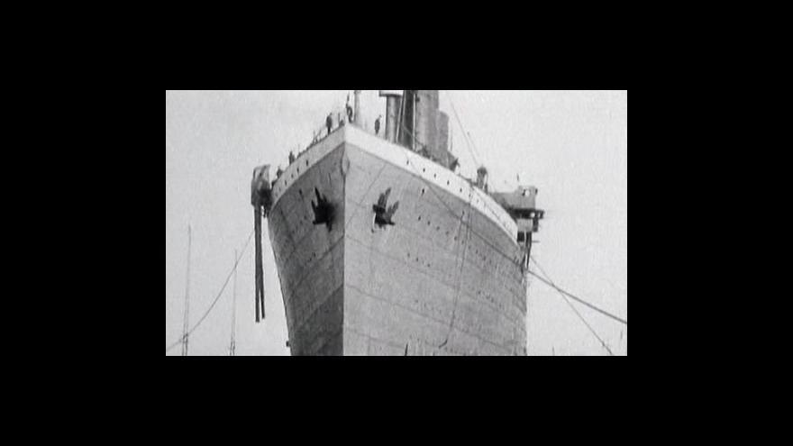 Video Titanic oslavil posmrtnou stovku