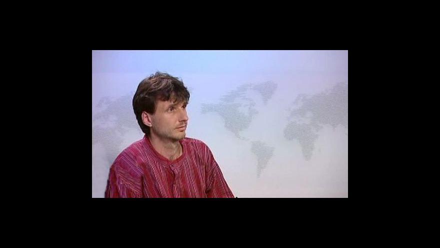 Video Ředitel společnosti EDUIN Zdeněk Slejška ve Studiu ČT24