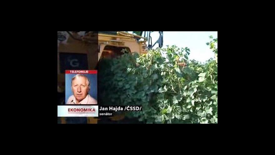 Video Jan Hajda o vinohradech v Česku