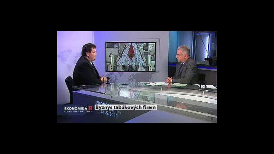 Video Ekonomika ČT24 o tabákovém průmyslu