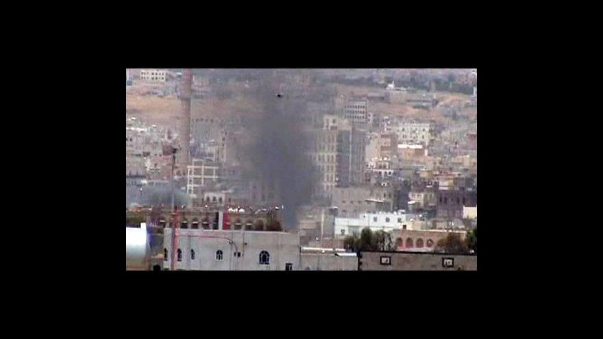 Video Studio ČT24 o situaci v Jemenu