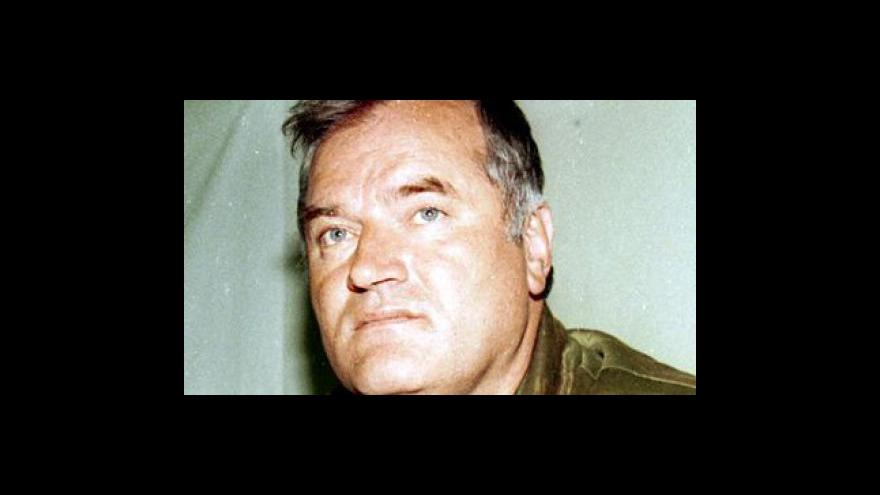 Video Studio ČT24 o zatčení Ratka Mladiče