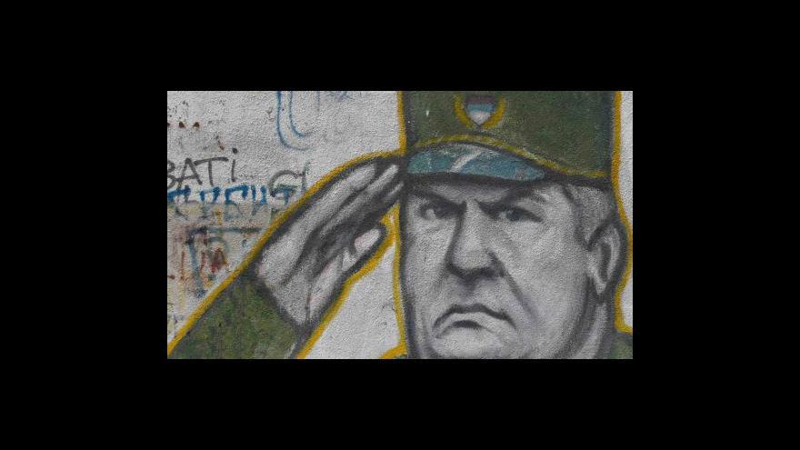 Video Události k zatčení Ratka Mladiče