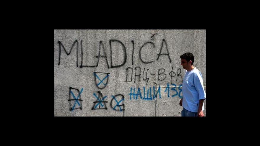 Video Generál Mladić skončil v rukou spravedlnosti
