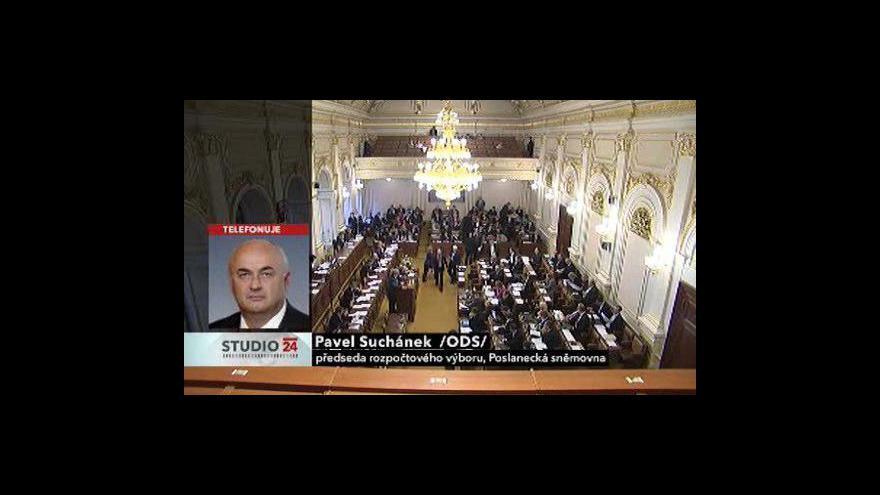 Video Poslanec Pavel Suchánek ve Studiu ČT24