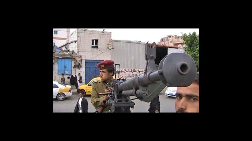 Video V Jemenu se schyluje k občanské válce