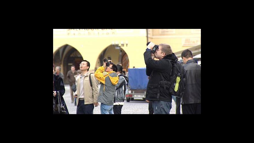 Video Japonští turisté