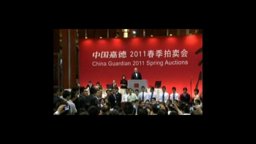 Video V Číně padl aukční rekord za umělecké dílo