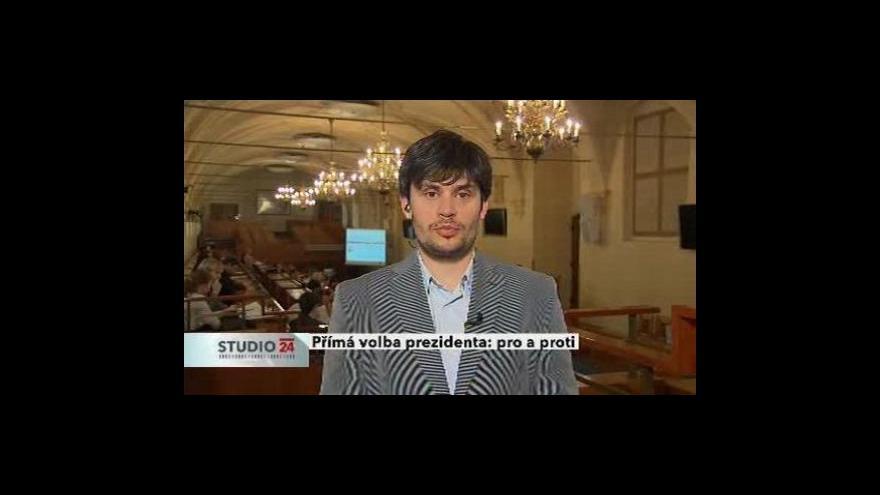 Video Politolog Tomáš Lebeda pro ČT24