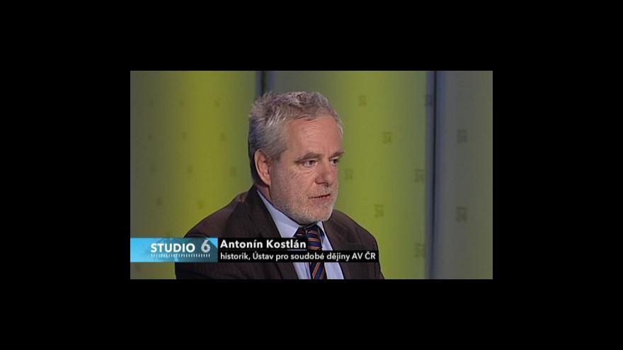 Video Rozhovor se Soňou Štrbáňovou a Antonínem Kostlánem