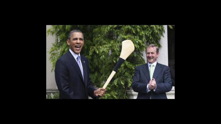 Video Barack Obama je na návštěvě Irska