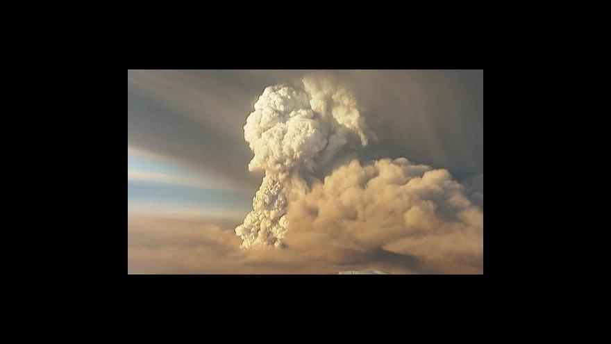 Video Islandská sopka hrozí Evropě