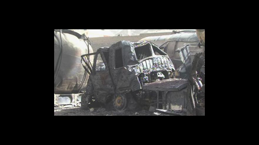 Video Ozbrojenci napadli cisterny
