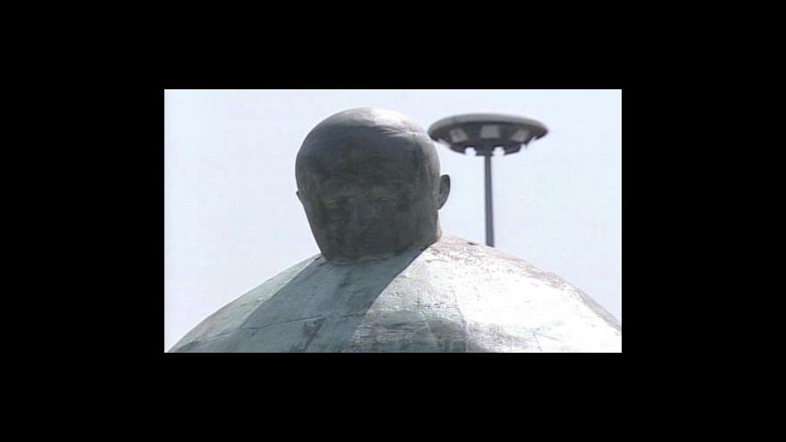 Video Řím má novou sochu Jana Pavla II.