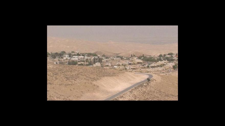Video Palestina nemůže vzniknout na úkor Izraele