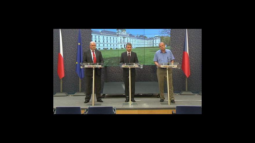 Video Názory vlády a odborů se mírně sblížily