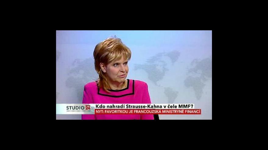 Video Komentář Jany Matesové