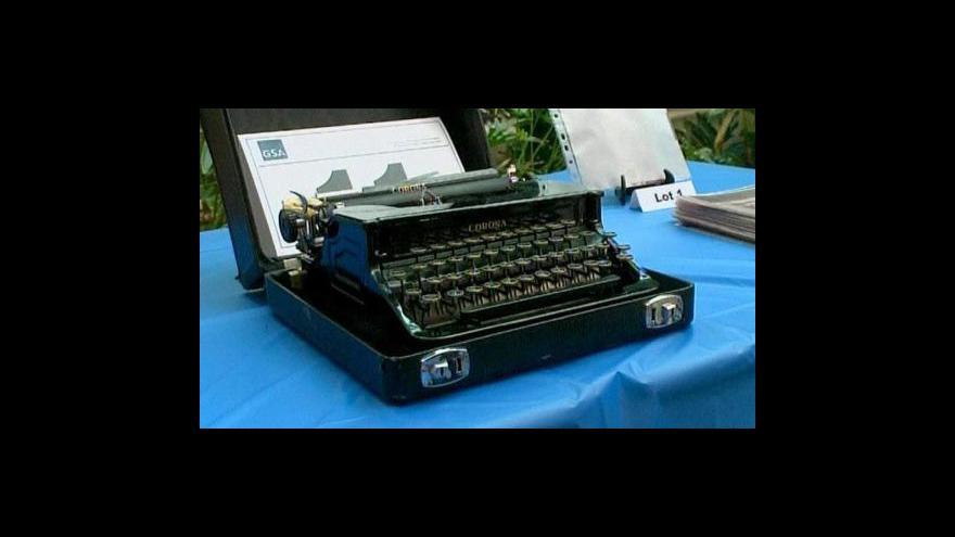Video V aukci jsou deníky Unabombera