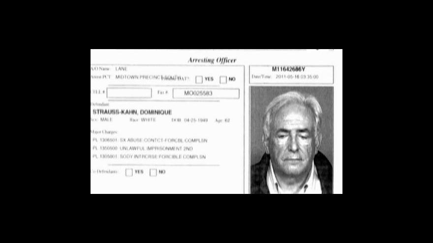 Video Strauss-Kahn už není šéfem MMF