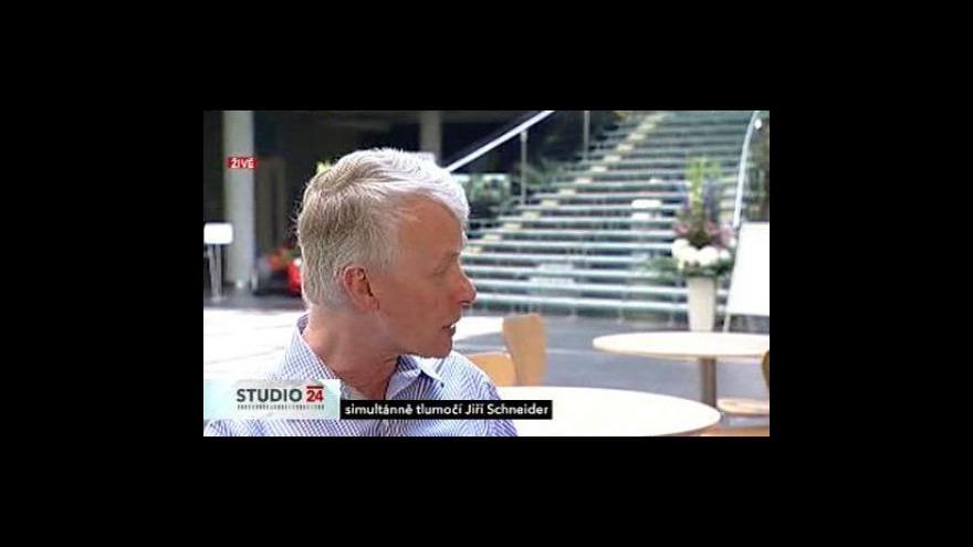 Video Richad J. Roberts a Stanislav Štěpánek o české vědě