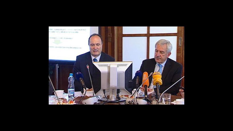 Video Tisková konference ministerstva zdravotnictví