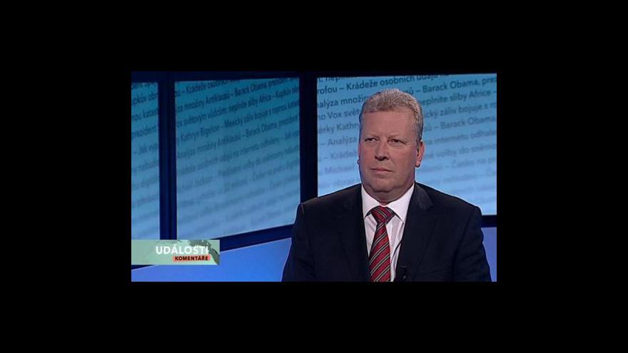 Video Rozhovor s Jiřím Besserem v Událostech, komentářích
