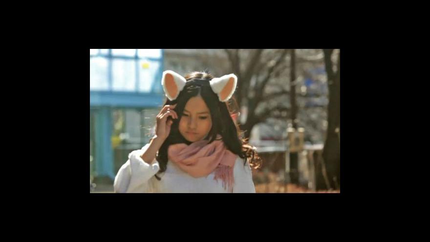 Video Japonská hračka prozradí náladu svého nositele