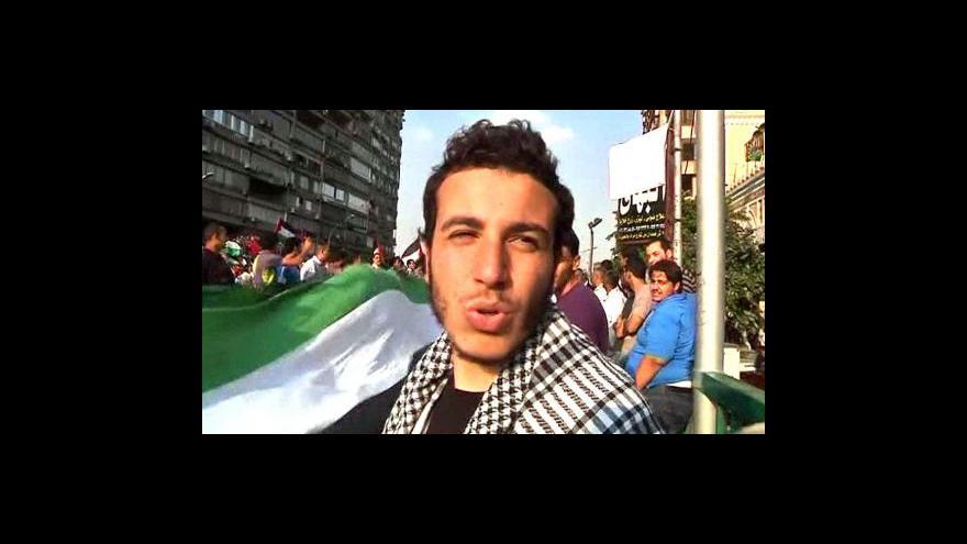Video V Egyptě se protestovalo proti Izraeli