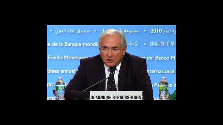 Video Šéf MMF čeká v New Yorku na soud