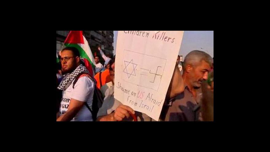 Video Protesty proti vzniku Izraele