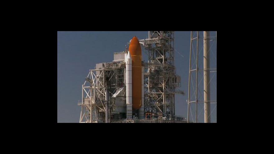 Video Start raketoplánu bude ČT24 vysílat živě