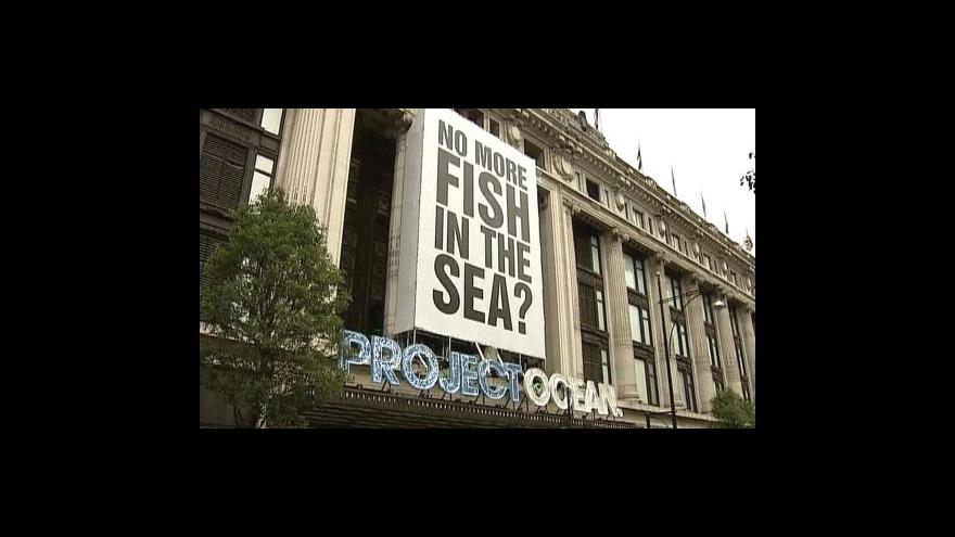 Video Selfridges agituje za záchranu ryb