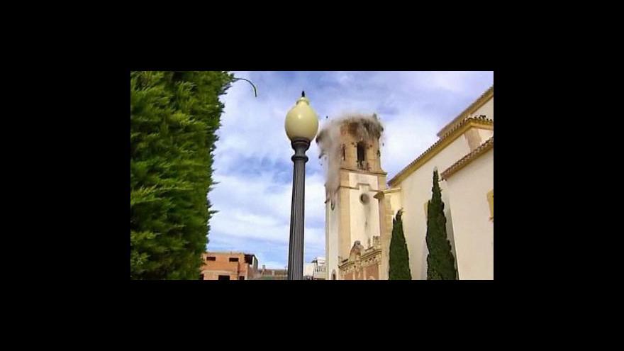 Video Španělsko postihlo zemětřesení