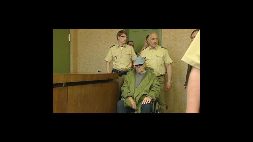 Video Demjanjuk si vyslechne rozsudek